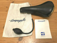 Campagnolo Electa Inflatable Saddle, 1980s, Excellent With Pump And Original Bag