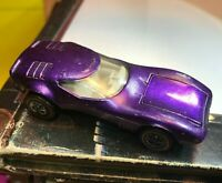 Hot Wheels Redline Purple Torero 1968 Mattel US Light Interior vintage orig car!