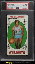 1969 Topps Basketball Joe Caldwell ROOKIE RC #41 PSA 6 EXMT