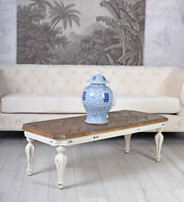 Sofa Table Coffee Wooden Living Room Retro Antique