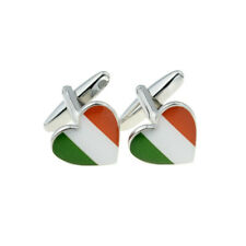 Irlandese Tricolore in Eire Irlanda Bandiera CUORE Gemelli x 2 Boch 011