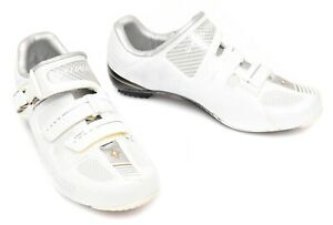 Specialized Women Pro Carbon Road Bike Shoes EU 36 38 US 5.75 7.25 White Race