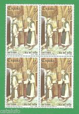 Spain Edifil 2810** MNH Día del Sello  BLOQUE de 4 B4