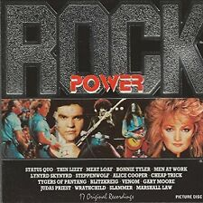 Rock Power Status Quo, Thin Lizzy, Blitzkrieg, Judas Priest, Steppenwolf.. [CD]