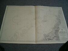Vintage Admiralty Chart 2112 CHINA SEA - BORNEO - NORTH-WEST COAST 1950 edn