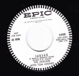 HEAR SLEAZY INSTRO ROCKERS - THE JAGUARS - JAGUAR / ROUNDABOUT - EPIC 45 RE