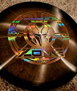 Discraft Z SPARKLE ZONE 2021 Ledgestone Black/RAINBOW STAMP 173-174g Disc