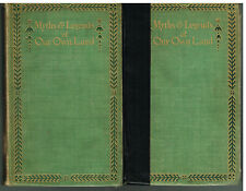 Myths & Legends Of Our Own Land Complete in 2 Vol by Charles M. Skinner First Ed