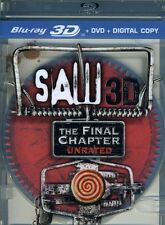 Saw: The Final Chapter [2 Discs] [3D] [Blu-ray/DVD] (2011, Blu-ray New)