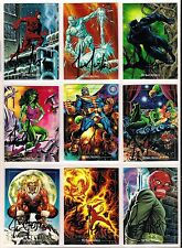 1992 Marvel Masterpieces AUTOGRAPHED by JOE JUSKO - Singles