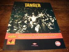 TANGER - PUBLICITE LA MEMOIRE INSOLUBLE !!!!!!!!!!!!!!!