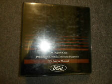 2004 Ford Car Truck Gas Engines Only Powertrain Control Emission DIgnosis Manual