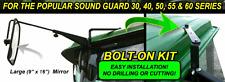 New! John Deere Sound Guard Cab Mirror Kit #Dm214440 - pm