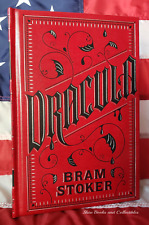 NEW Dracula by Bram Stoker Bonded Leather Hardcover Collectible Edition OOP