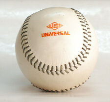 """OLD VINTAGE LEATHER SOFTBALL 12"""" GREAT CONDITION Ball Hand Stich ???"""