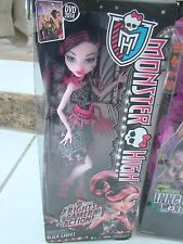 Monster High Doll Lot of 2 new packages Draculara Black Carpet & Scared Silly