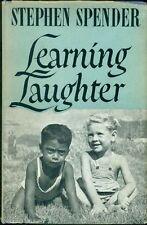 SPENDER Stephen (Londra 1909 - 1995), Learning Laughter