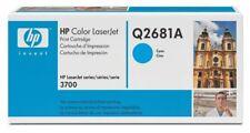 Toner HP originale Q2681A Ciano per Color Laserjet 3700