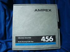 "Ampex Grand Master 456 Reel-Reel Studio Tape 1"" Prerecorded The Tossers Band"