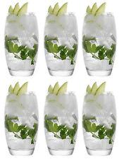 Box of 6 Empire cocktail Mojito highball glasses tall Glasses 510ml 17 1/4 oz