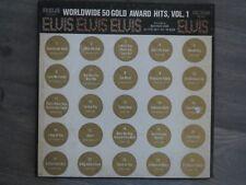 Elvis Presley worldwide gold awards hit, Vol 1 vinyl  records mono