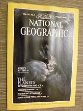 National Geographic- THE PLANETS BETWEEN FIRE AND ICE - JANUARY 1985