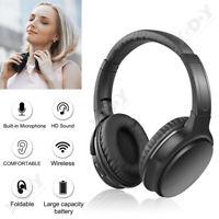 On-Ear sans fil Bluetooth 5.0 écouteur HD Heavy Bass Headset Casque mains libres