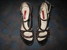 Cesare Paciotti High Heel Sandaletten / Gr. 36 1/2 / getragen