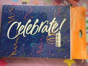 "Invitations Hallmark ""Celebrate"""