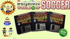 SENSIBLE WORLD OF SOCCER 2020 / 2021 Floppy Disk SWOS + SAVE Disk Amiga
