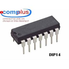 MC14013BCL IC-DIP14 DUAL POSITIVE EDGE TRIGGERED D FLIP-FLOP, COMPLEMENTARY OUTP