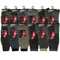 Men's Thick Thermal Extra Warm Winter Trekking Walking Boot Work Socks 6-11
