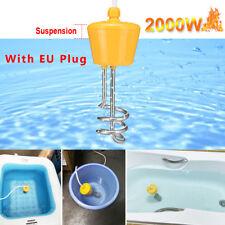 2000W Tauchsieder Reisetauchsieder Wasserkocher Pool Aufblasbar Heizspirale OL