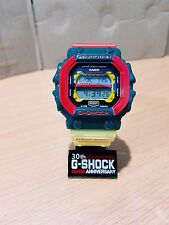 Vintage G-Shock King Unique Custom Reggae Rasta Cannabis Solar GWX GXW GX-56