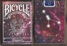 1 DECK Bicycle Constellation CANCER zodiac playing cards FREE USA SHIPPING