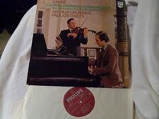 FAURE - THE VIOLIN SONATAS FOR VIOLIN AND PIANO, GRUMIAUX. PHILIPS 9500 534 LP