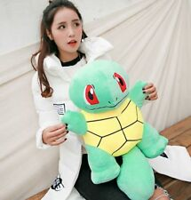 "20"" Official JUMBO SQUIRTLE Pokemon Center Nintendo Plush Doll Game Toy"