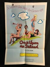 Once Upon An Island 1965 One Sheet Movie Poster Sexploitation Fable