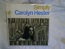 CAROLYN HESTER-Simply SEALED LP,columbia folk odyssey,32 16 0264,i loved a lass