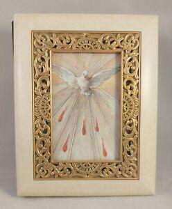 Christening / Baptismal Photo Album Holy Spirit Cover