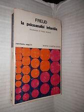 LA PSICOANALISI INFANTILE Sigmund Freud Fausto Antonini Newton Compton 1977 di