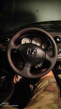 2002 - 06 ACURA RSX  reupholstered steering wheel