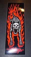 "JIMBO PHILLIPS Skate 6"" Sticker HELLHOUND Logo skating skateboard helmets decal"