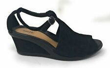 Earth Womens Caper Black Sandal - 8.5 Used