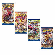 POKEMON: XY BREAK-POINT - 4 SEALED BOOSTER PACKS -NEW TRADING CARDS FOR 2016