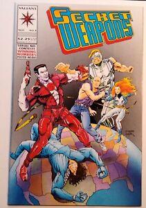 Comic Book - Secret Weapons #3 - Nov 1993 - Valiant Comics - Uncertified - VF+