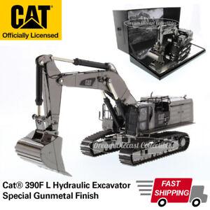CAT CATERPILLAR 390F L HYDRAULIC EXCAVATOR GUNMETAL 1/50 DIECAST MASTERS 85547