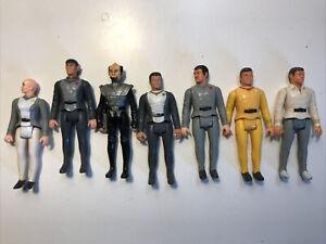 Lot of 7 Mego Star Trek The Motion Picture Vintage Action Figures 1979