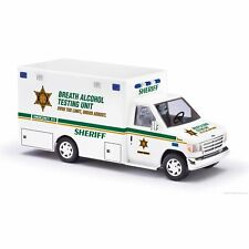 Busch 1/87 HO Ford E 350 Sheriff DUI Checkpoint Test Vehicle 41800