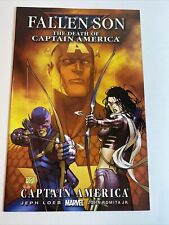Fallen Son The Death Of Captain America #3 Kate Bishop & Hawkeye Marvel 2007 NM